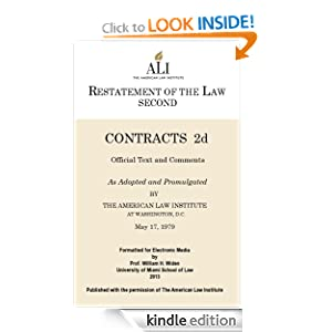 restatement of the law of contracts Subscribe to restatement of the law third the draft is the result of the ali's 2012 initiative to supplement the restatement second of contracts and uniform.