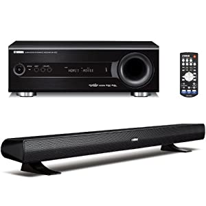 Yamaha YHT-S400BL Home Theater System with Built in Digitalmplifier, Exclusive AIR SURROUND XTREME