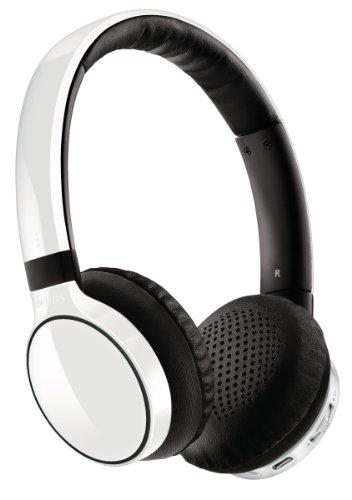 Casque Philips SHB9100 blanc avec ou sans fil - Bluetooth - Nomade