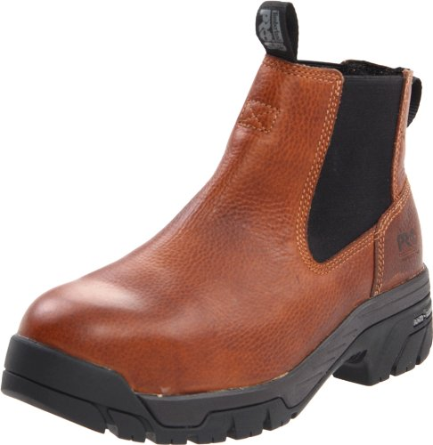 Timberland PRO Men's Helix Chelsea ESD Work Boot,Brown ,7 M US