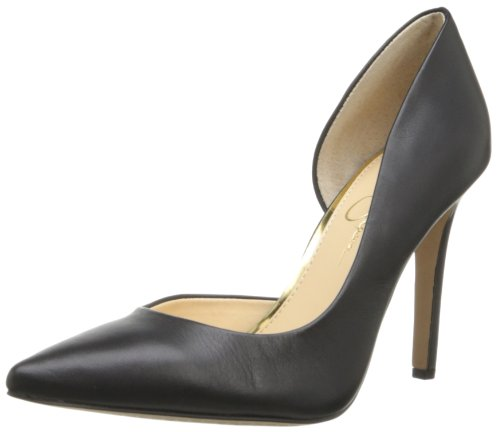 jessica-simpson-womens-claudette-synthetic-dorsay-pumpblack-alsina-leather75-m-us