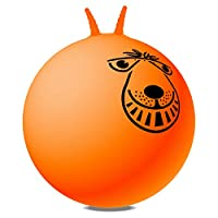 80CM Giant Adult Retro Space Whopper Hopper Orange