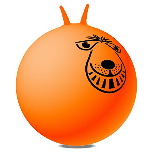 80CM Giant Adult Retro Space Whopper Hopper Orange