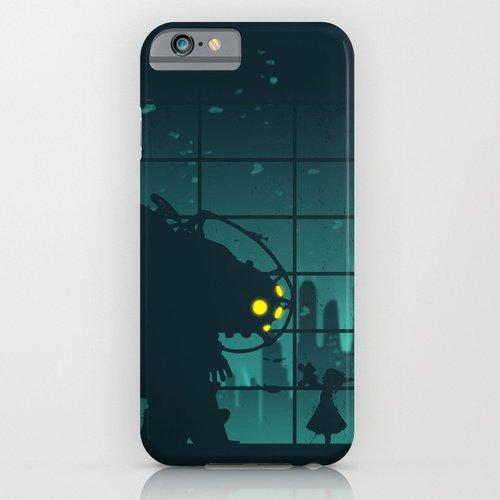 iPhone6ケース society6(ソサエシティシックス) Come on, Mr. Bubbles!バイオショック デザイナーズiPhoneケース