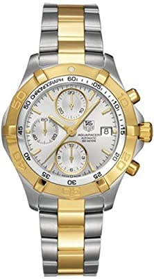 TAG Heuer Men's CAF2120.BB0816 Aquaracer Automatic Chronograph Two-Tone Watch