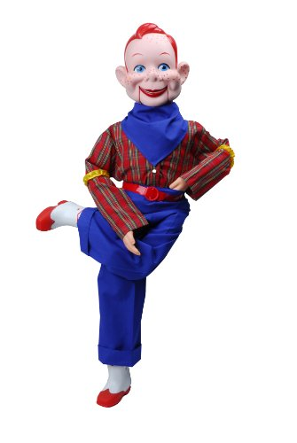 Howdy Doody Dummy, Celebrity Ventriloquist Doll, Star of Howdy Doody TV Show, 'All American Boy' w/Red Hair & Freckles. Comes w/Bonus E-Book 'How to Be a Ventriloquist', Detailed Step-By-Step Instructions to Learn Ventriloquism
