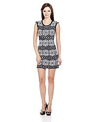 Elle Women's Body Con Dress (Eedr0003_Black_Small)