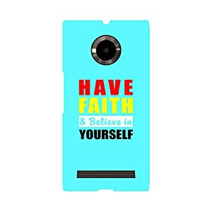 Phone Candy Designer Back Cover with direct 3D sublimation printing for Micromax Yu Youphoria