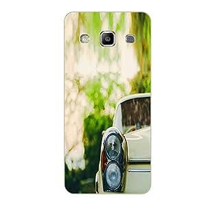 Vibhar printed case back cover for Samsung Galaxy Grand Quattro WhiteVec