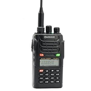 Wouxun KG-UVD1P VHF/UHF Dual Band Two Way Radio (Black) by Wouxun