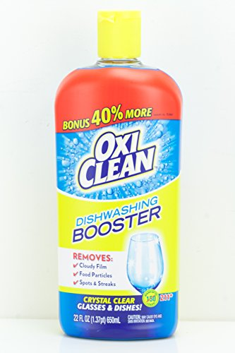Oxiclean Dishwashing Booster, 22 Ounces, 211 Loads (Dishwasher Booster compare prices)
