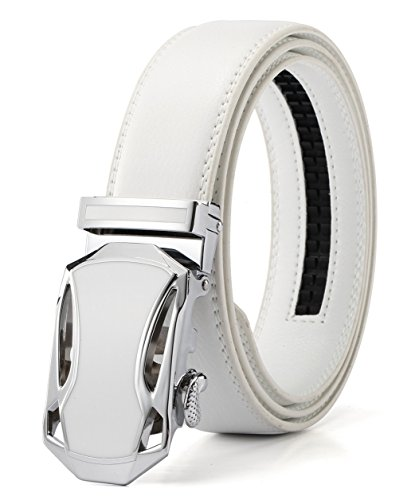 Xhtang-Mens-Jefferson-Buckle-with-Automatic-Ratchet-Leather-Belt-35mm-Wide