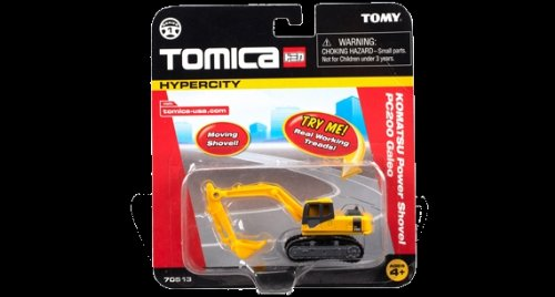 TOMY/TOMICA HYPERCITY KOMATSU Power Shovel PC200 Galeo Single Pack - 1