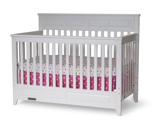 Child Craft Logan Lifetime 4 In 1 Convertible Crib Matte