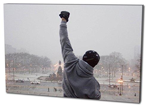 Formato Rocky Tela da parete Formato: 120x80 cm, qualità TOP! Illustrazione da parete realizzata in Germania disponibile in diverse misure, da quella piccola fino alla grande (XXL)! Stampa conveniente e incorniciata pronta per essere appesa - con motivo fantastico e unico nel suo genere. Non un semplice poster, né un manifesto!