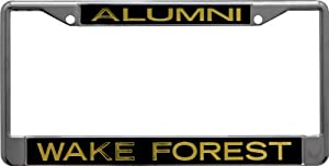 Buy NCAA Wake Forest Demon Deacons License Plate Frame Alumni by Stockdale