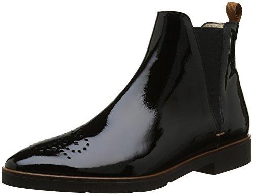Jb Martin1 Forum - Stivali Chelsea alla caviglia Donna , Nero (Noir (Veau Vernis Noir)), 38