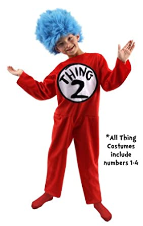 Thing 1/2 Costume - Small