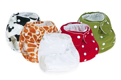 5 Reusable Cloth Nappy Pack