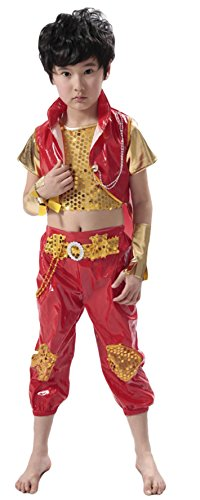 AvaCostume Cool Boys Dance Costumes Jazz Drums Costume