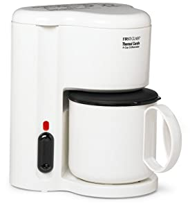 Coffee Maker Automatic Shut Off : Amazon.com: Jerdon CM21W 4-Cup Automatic Shut-Off Coffee Maker with Non-Breakable Thermal Carafe ...