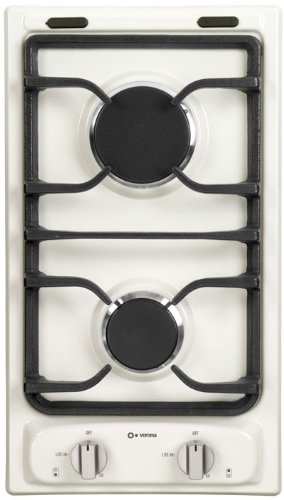 Verona 12 inch Bisque Gas Cooktop - VEGCT212FB