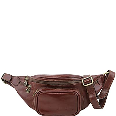 81413054 - TUSCANY LEATHER: Sac banane en cuir, marron