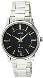 Casio Enticer Analog Black Dial Mens Watch - MTP-1303D-1AVDF (A492)