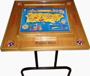 Puerto Rico Domino Table With The Map Alabamasa186