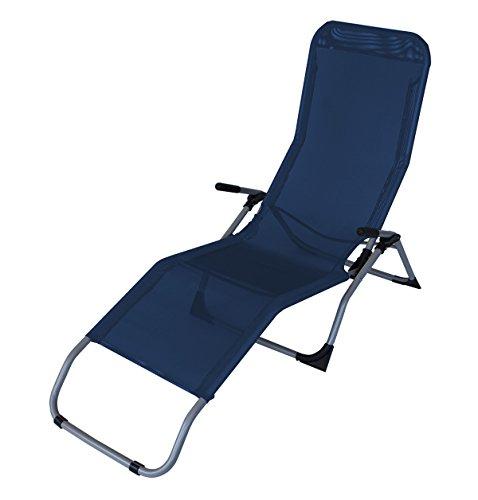 Gesundheitsliege-SYLT-Stahl-Textilene-dunkelblau-faltbar-fr-Innen-Auen