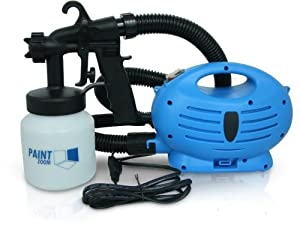 New Paint Zoom Pz-001 Paint Sprayer 3-way Spray Head