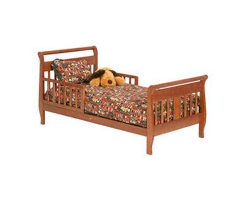 Cognac Stork Craft Soom Soom Toddler Bed front-1013505