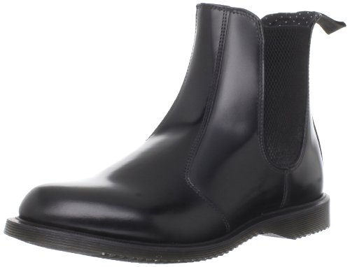 Dr. Martens Women's Flora Fabric Black Pull On Boots 14649001 3 UK