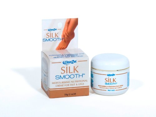 ClearZal Silk Smooth Moisturising Creme for Feet and Legs 59g