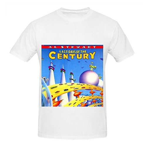 Al Stewart Last Days Of The Century Soul Men Customized Tee Shirts White