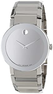 Movado Men's 606093 Sapphire Stainless-Steel with Mirror Dial Watch