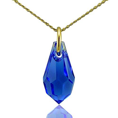 jewellery-joia-9k-375-oro-giallo-pera-blu-zaffiro-cristallo
