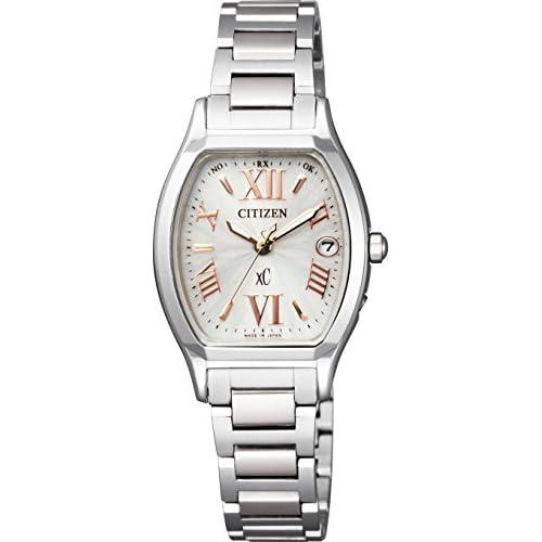 [シチズン]CITIZEN 腕時計 xC クロスシー Titania Line  Eco-Drive電波 エコ・ドライブ電波 トノーモデル ES8150-56A レディース