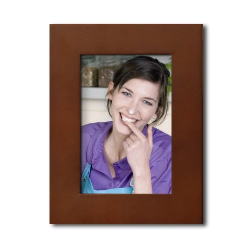 Adeco [PF0404] Walnut Wooden Wall Hanging Collage Picture Photo Frame - Home Decor Wall Art