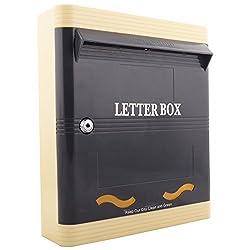 Lamba's PG02GI SDA Plastic Letterbox ( 280mm x 317mm x 77mm )
