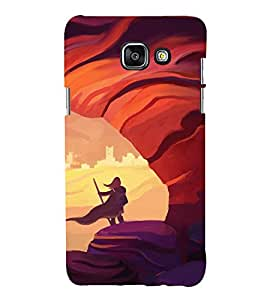 printtech Refugee Girl Game Art Back Case Cover for Samsung Galaxy A5 (2016)