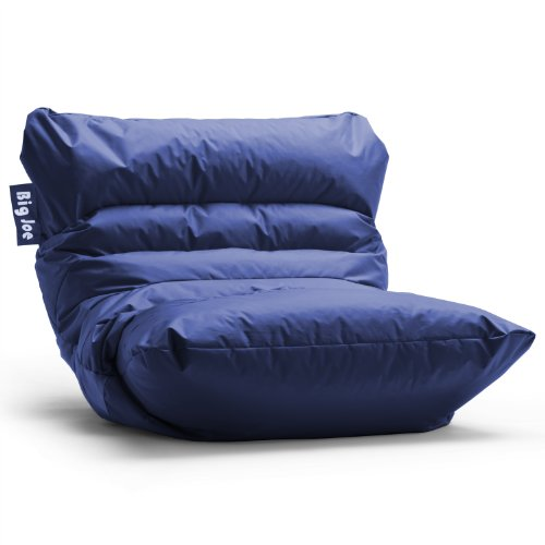 Big Joe Roma Bean Bag Chair, Sapphire : My Home