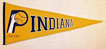 Pacers Hardwood Classic Pennant by Winning Streak