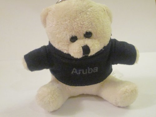 41oLwDD8IbL Buy  Aruba Souvenir Teddy Bear  Black T shirt