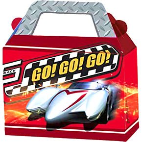 Speed Racer Treat Box 4ct - 1