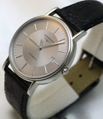 Longines Les Grandes Classiques Presence Automatic Exhibition Back Men's Watch from Longines