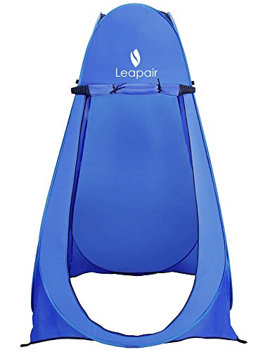 Leapair 75x40x40-Inch Shower Tent with Bag, Blue (Portable Shower Tent compare prices)
