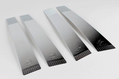 ix35 Zubehör für Hyundai ix35 Chrom Blenden B-Säule Leisten Tuning B Pillar Molding