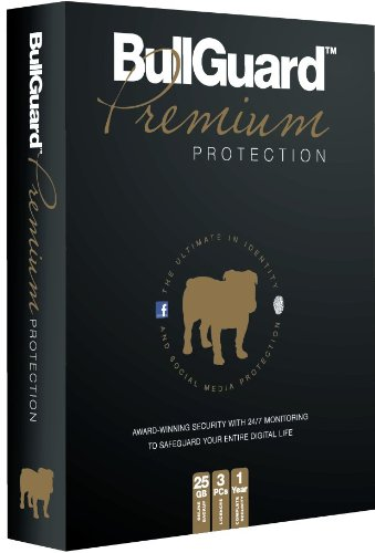 Bullguard Premium Protection - 3PC - 1 Year with 25GB Online Backup (PC)