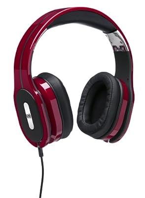 PSB M4U 1 High Performance Over-Ear Headphones (Red)